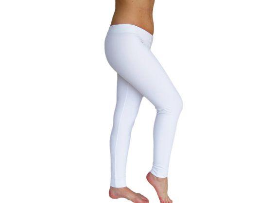 White Lycra Pants