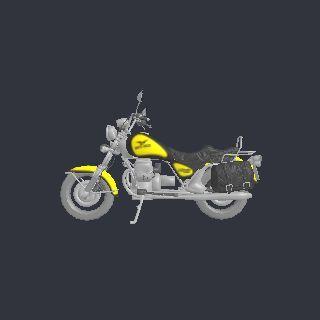 Pin by Yobi3D on motorcycle 3D model | Moto guzzi california