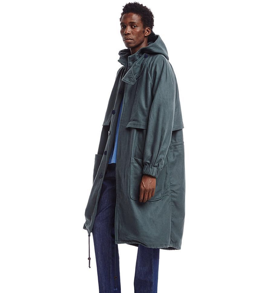check out our green wool parka available online on sunnei.it/shop ...