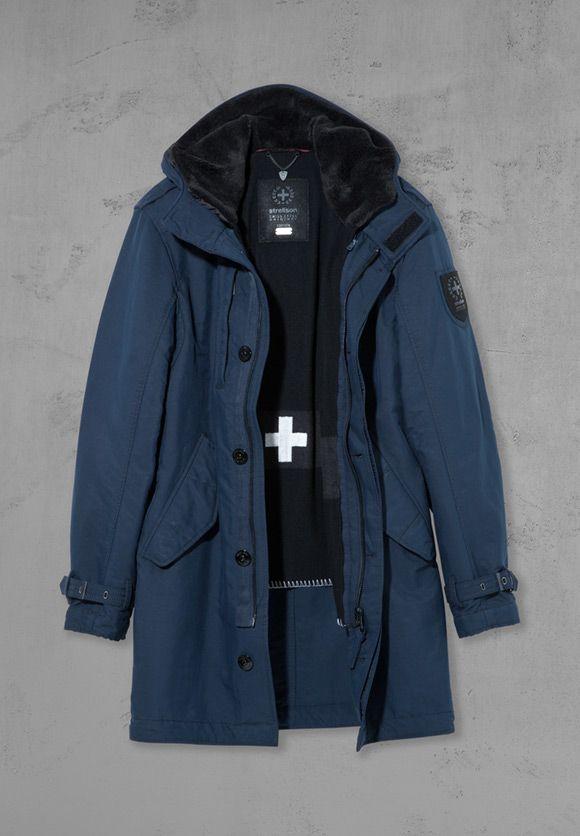 Our Swiss Cross Trooper  menswear  outerwear  jacket  coat  Strellson   giftideas  holidays  SantaStrellson  StrellsonFTWinter  fashion  Canada 8eec1c79ee