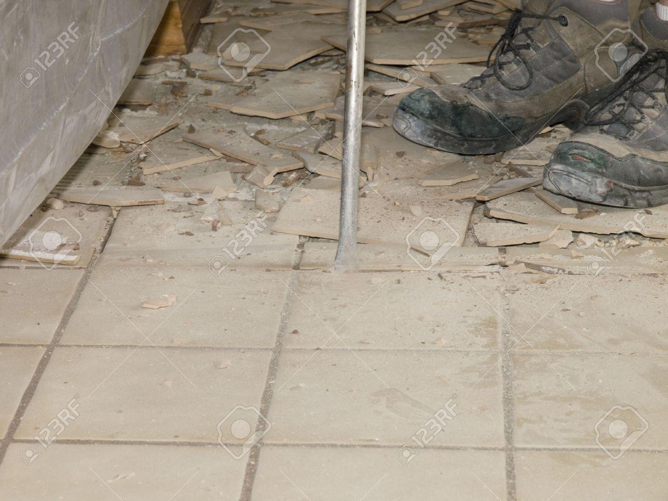 Ceramic tile floor demolition nextsoft pinterest