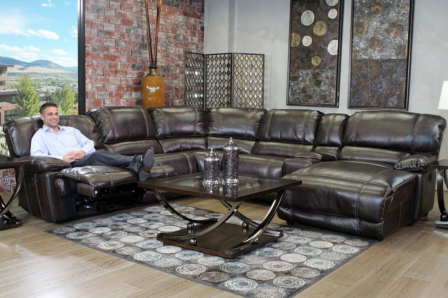Living Room Sets For Less azul living room - living room   mor furniture for less   my style
