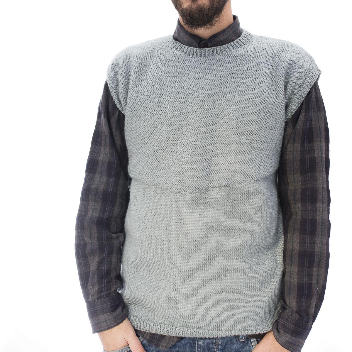 Jersey cuello alto - Lanas Rubí