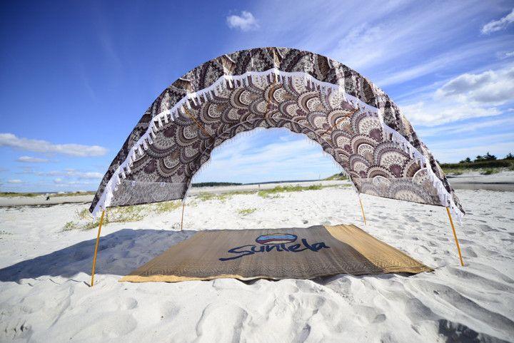 Cabana Mauve Clamshell Suniela Beach Designs Cool