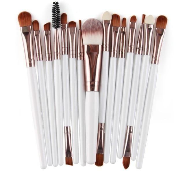 Professionelle Make-up Pinsel – 15 Stück 11