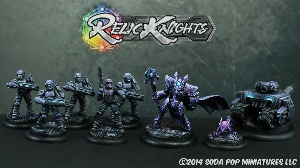 Relic Knights Black Diamond Starter Box