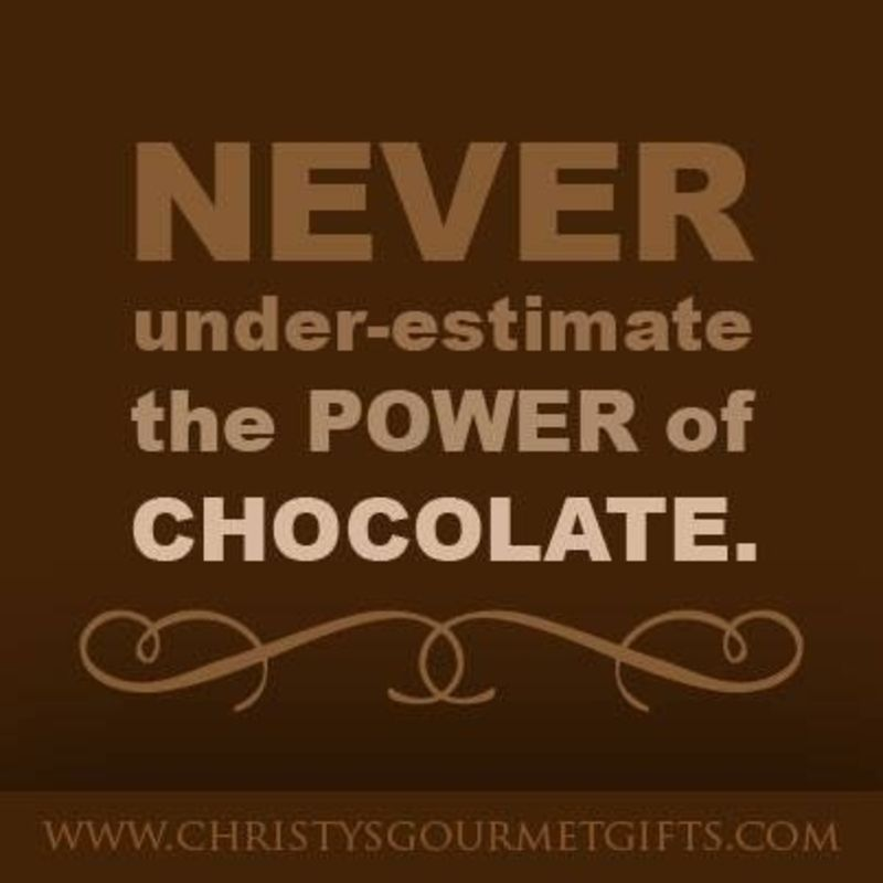 The is out Quotes about Chocolate We Can All Relate to