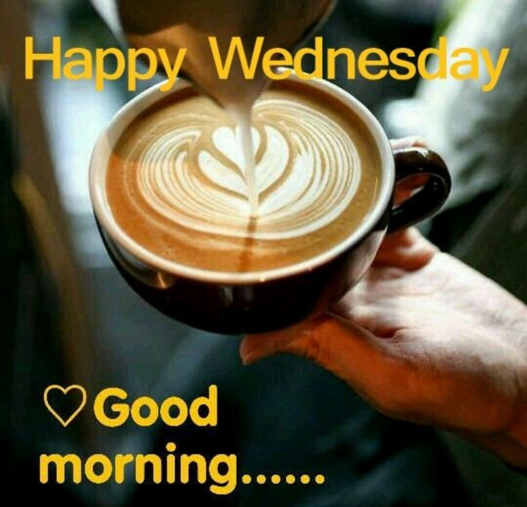 Good morning world ... have a wonderful Wednesday # ...