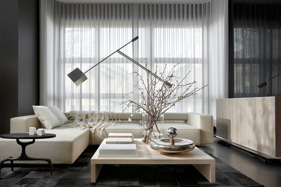 Lukas Machick Bucktown Residence Interior Living Room