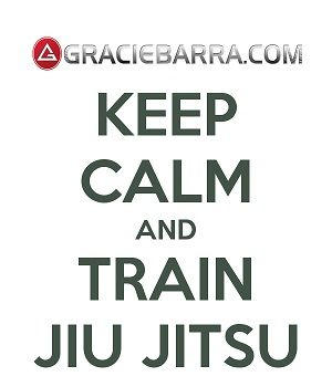 Keep Calm and Train Jiu-Jitsu