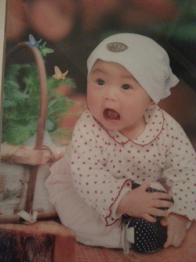 Ich als baby