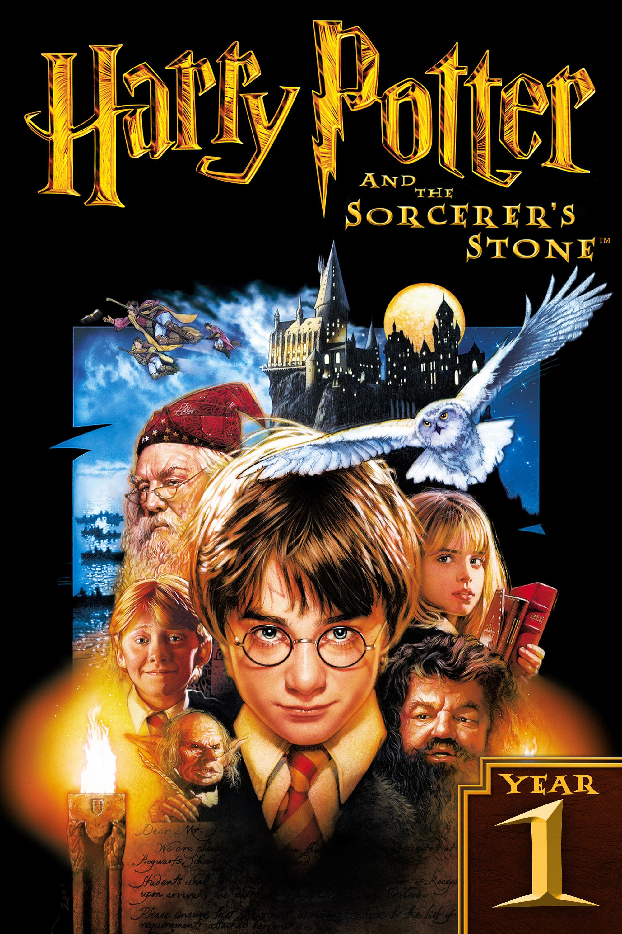 Harry Potter And The Sorcerer S Stone Harry Potter Poster The