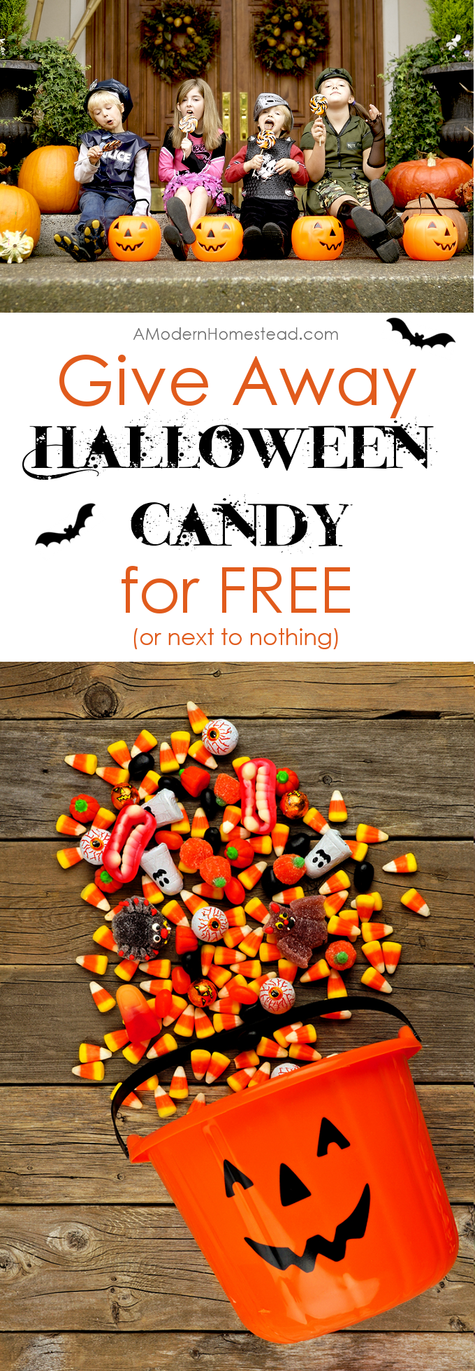 stop wasting money to give away candy on halloween find out how we give away