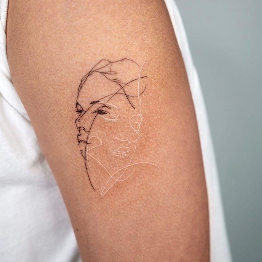 Photo of 27 Subtle, Beautiful, And Strange White Ink Tattoos