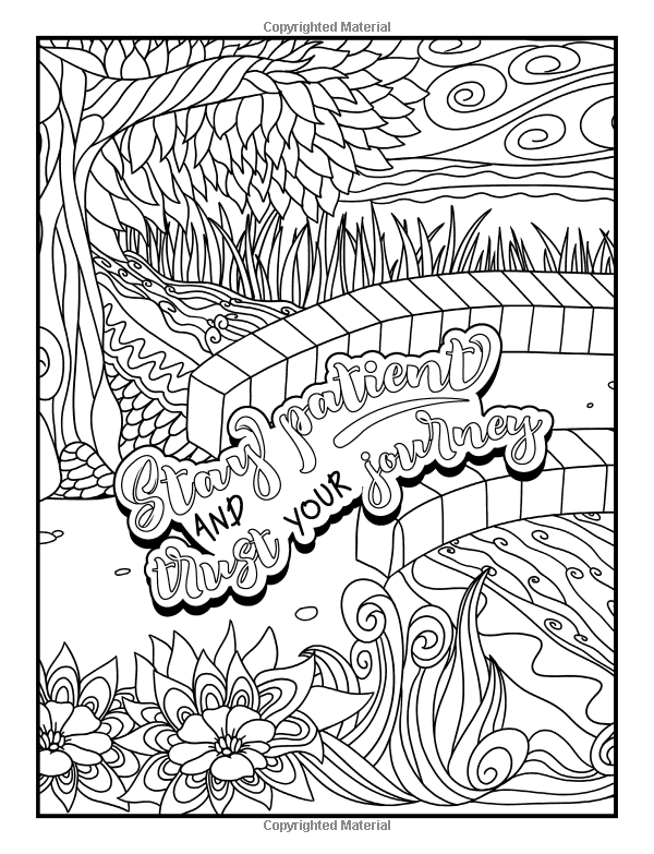 Amazon Com An Inspirational Colouring Book For Everyone Be Fearless In The Pursuit Of What Quote Coloring Pages Cuss Words Coloring Book Love Coloring Pages