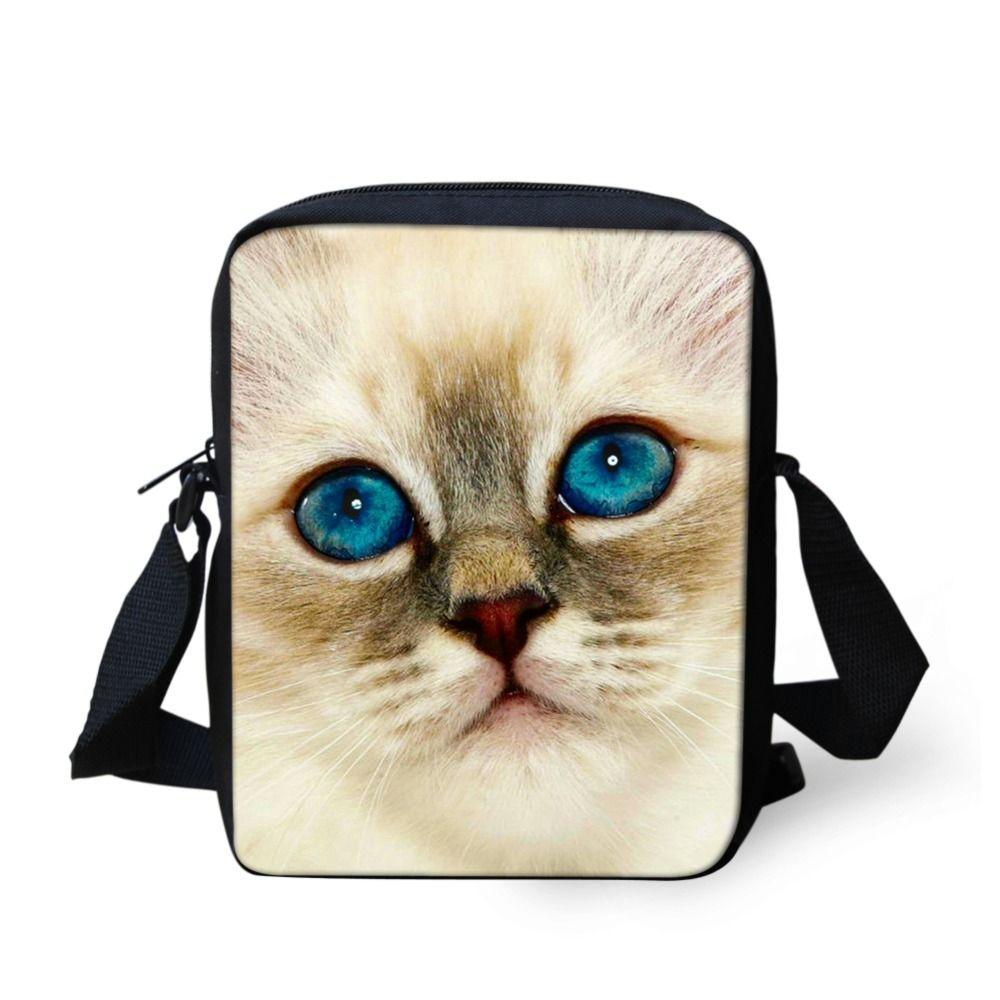 f1d1e999c126 FORUDESIGNS Brand Animal Denim Cat Messenger Bag for Women Mini Lady Girls Crossbody  Bag Casual Small Teen Kids Messenger Bag