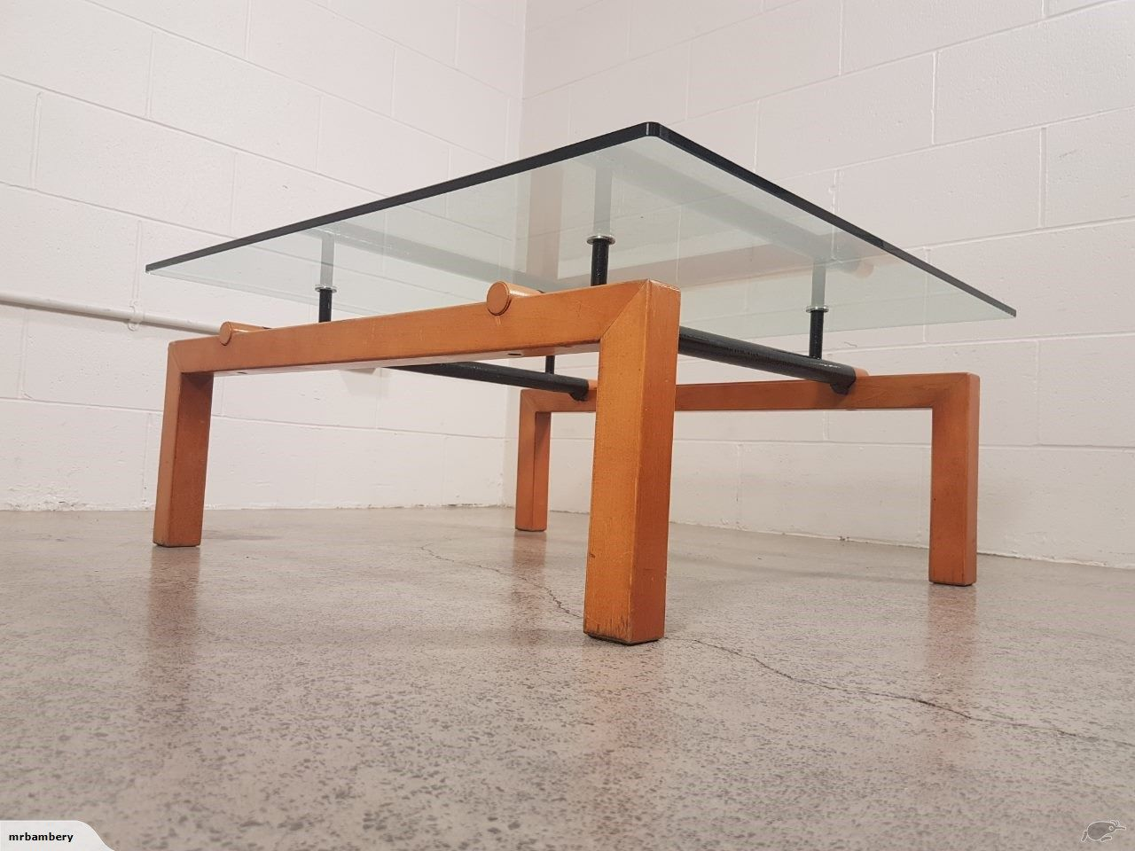 ~ Original Vintage Architectural Coffee Table ~ | Trade Me ...