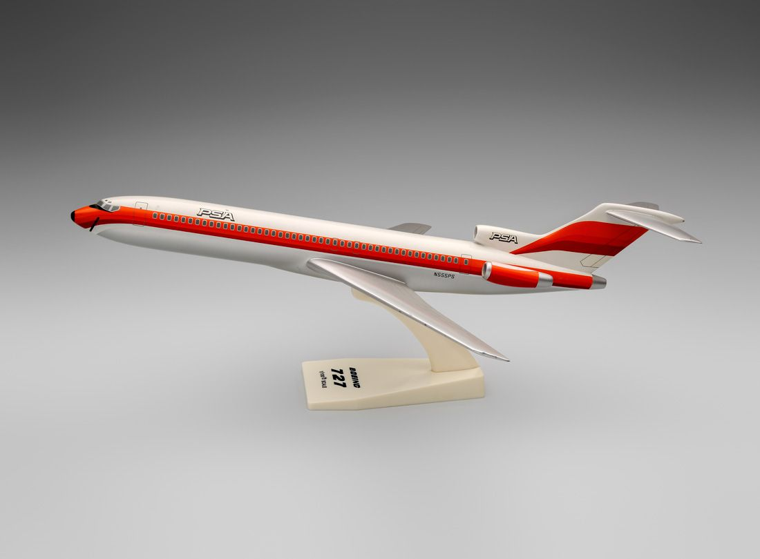 PSA (Pacific Southwest Airlines) Boeing 727 model | http://www ...