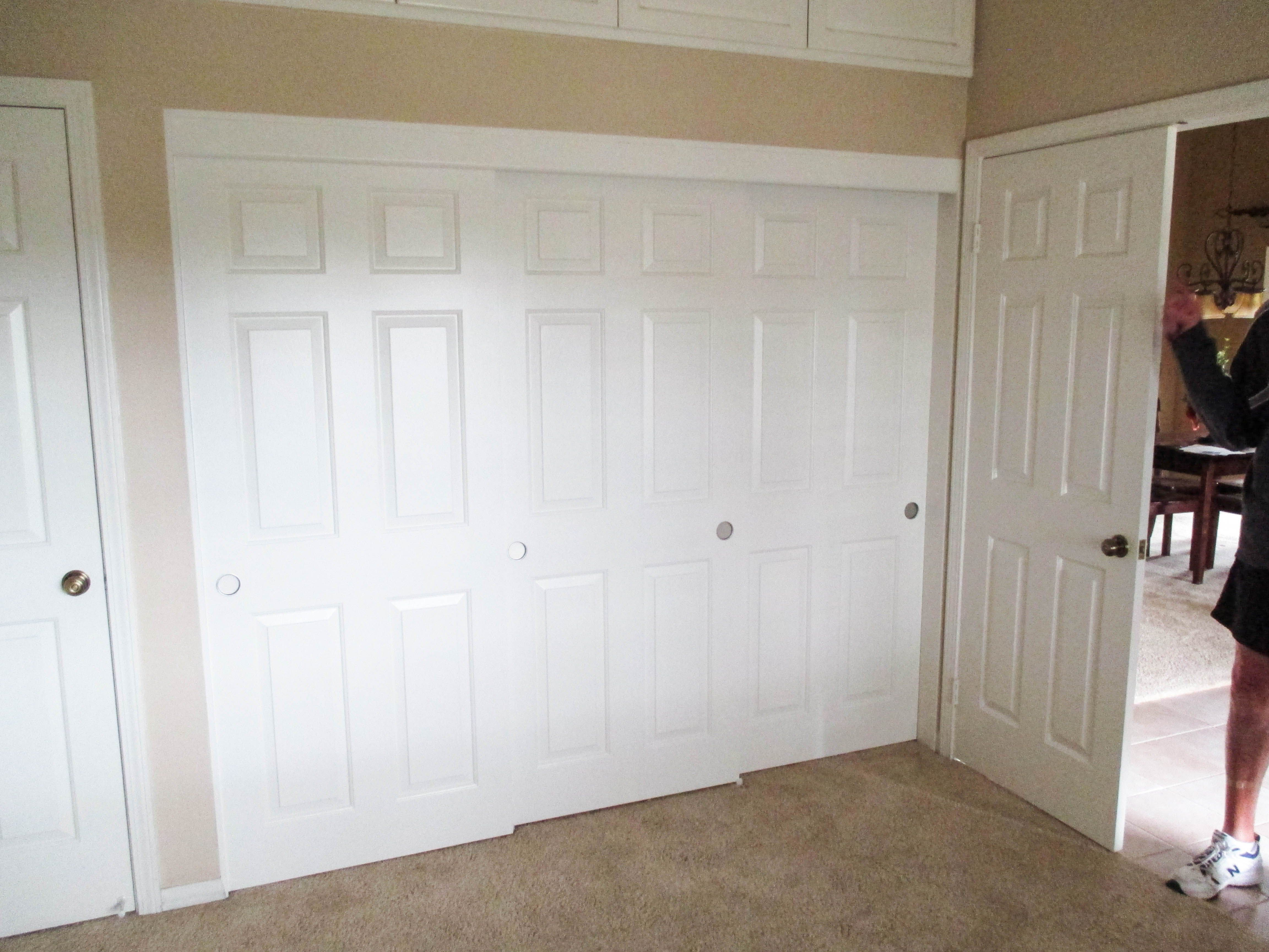 Check Out This Top Hung 3 Track 3 Panel Sliding Hollow Core Closet Doors With Colonial Designs Installed By Classic If You Need A N Closet Doors Home Design
