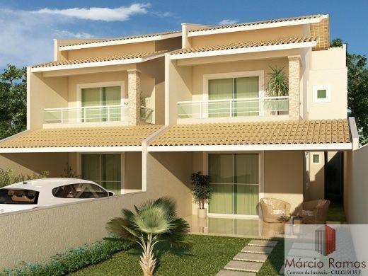 Fotos de fachadas de casas duplex projetos de casas for Diseno apartamentos duplex pequenos