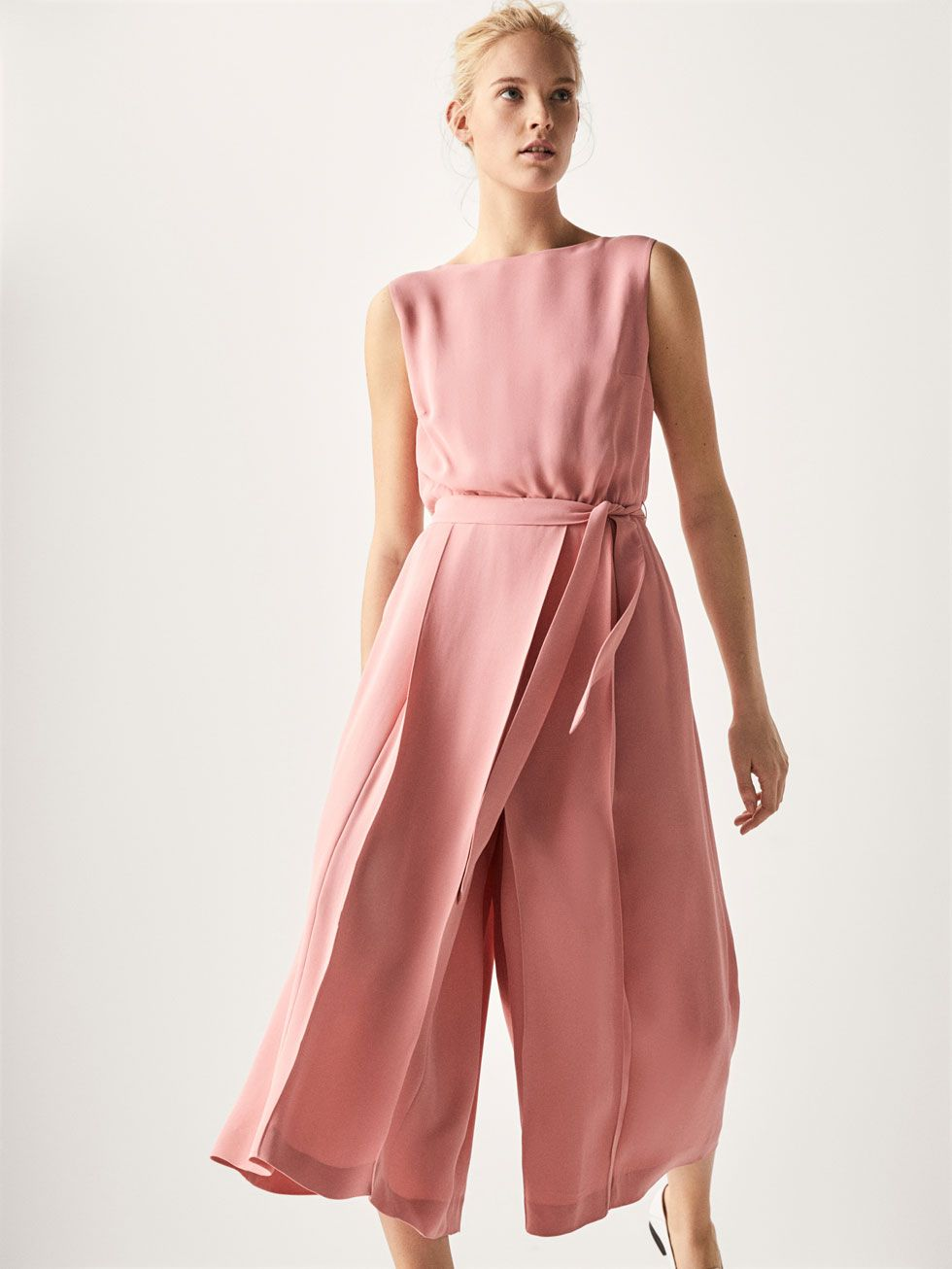 62a0ee5fb1 JUMPSUIT WITH PLEATS - Women - Massimo Dutti