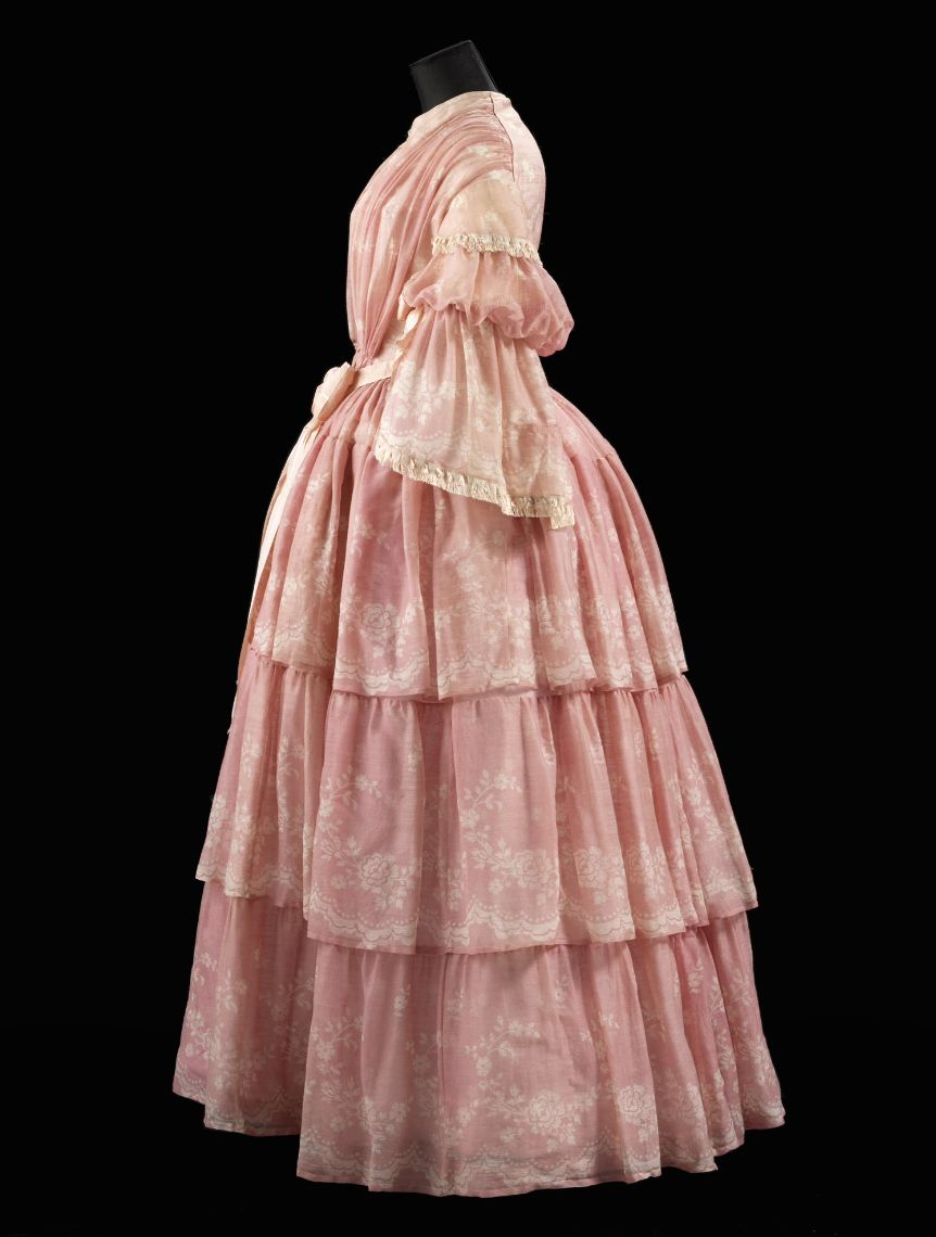 """Dress ca. 1857 From the exhibition """"A Century of Style: Costume and ..."""