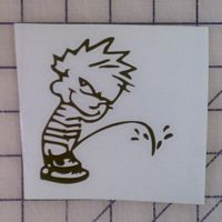 Calvin peeing eps