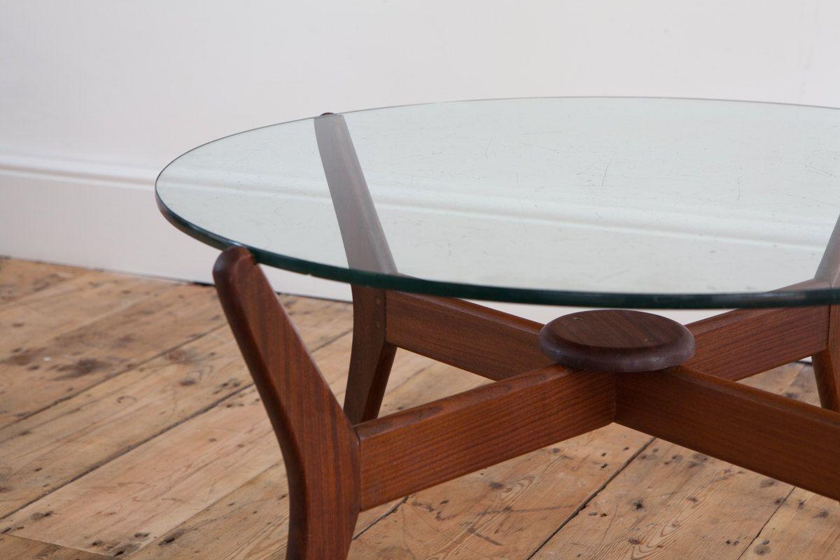 Beautiful Mid Century Danish Coffee Table In Teak And Glass Danish Coffee Table Coffee Table Mid Century Danish [ 800 x 1200 Pixel ]