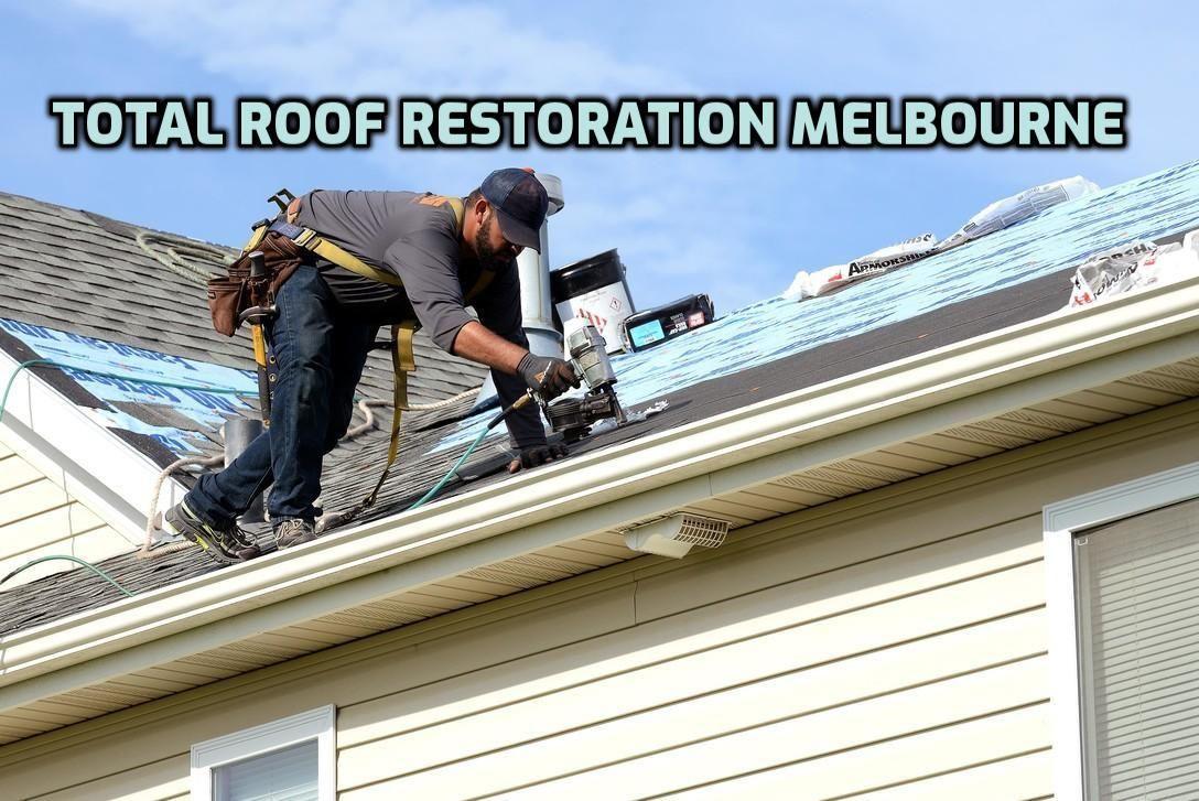 Roof Restoration Melbourne Roof restoration, Cool roof
