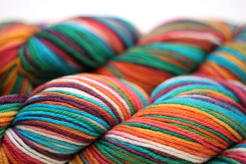 Happathy on Groove Thing Worsted Organic Merino by DiscoBabyKnits
