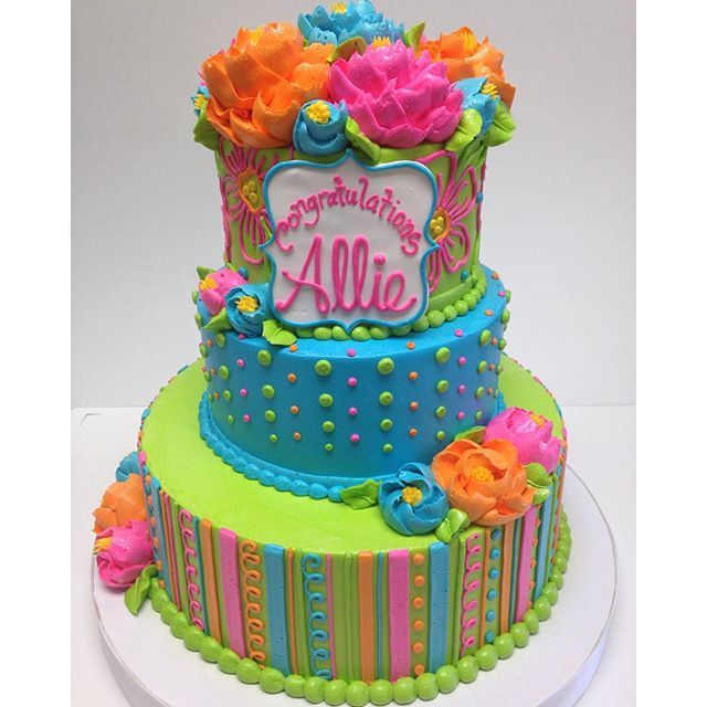 Buttercream Tiered Cake