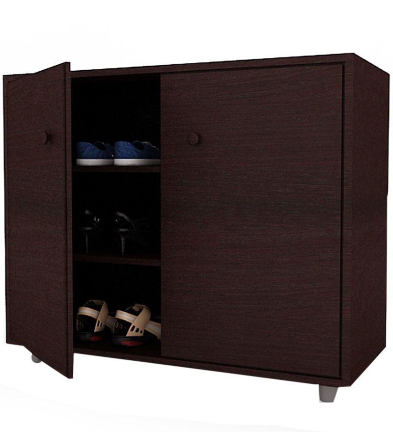Orbit Two Door Shoe Rack By Housefull By Housefull Online   Engineered Wood    Furniture