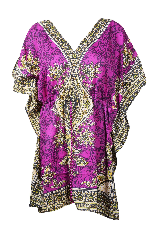 Womens Kaftan Dresses Knee Length Pink Dashiki Summer Caftan Etsy In 2021 Embellished Caftan Boho Maternity Dress Dashiki Print [ 3000 x 1997 Pixel ]