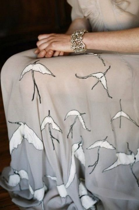 Nice skirt...