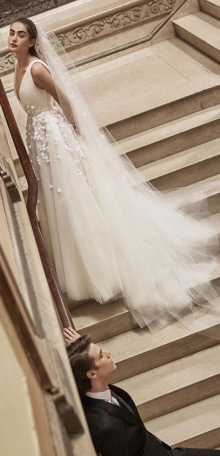 Carolina Herrera Spring 2019 Bridal Collection