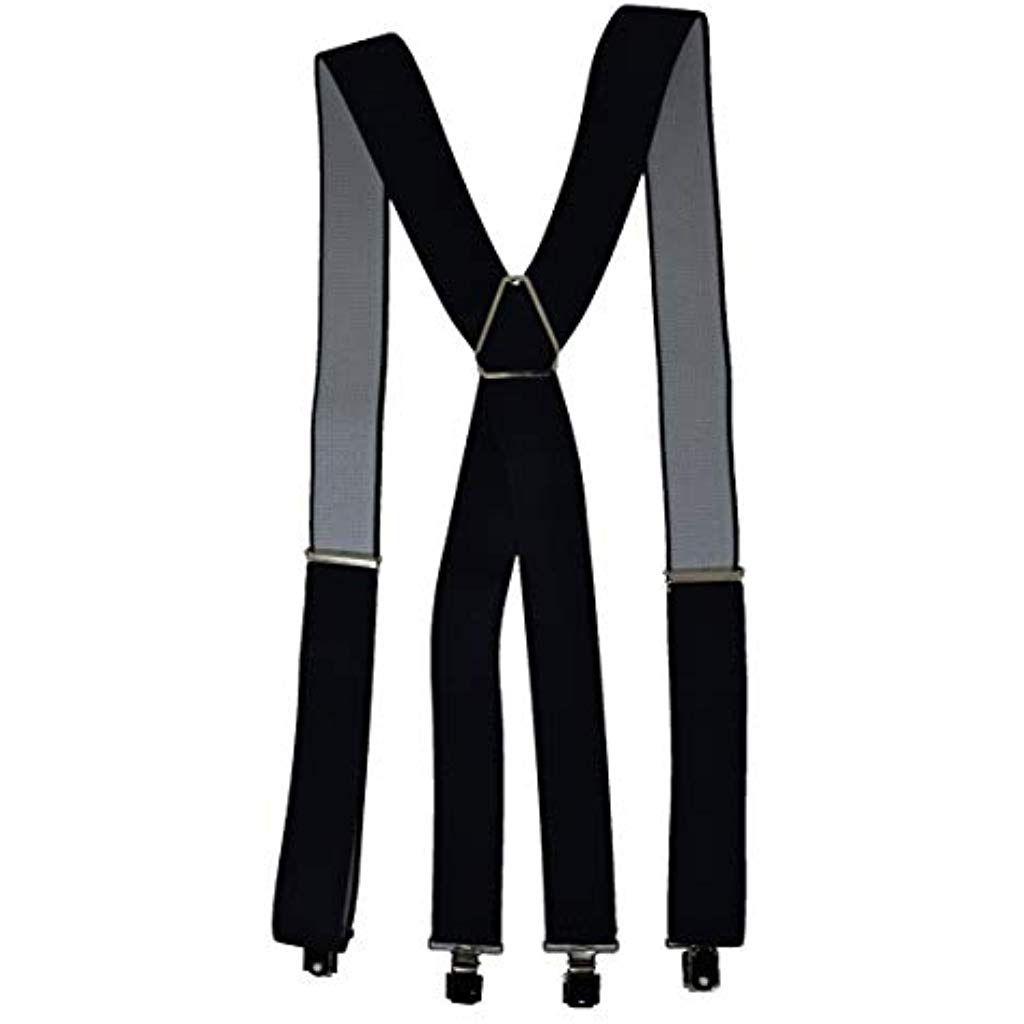 Bretelle Uomo Regolabili Antony Vinny Elastiche Eleganti con Clip