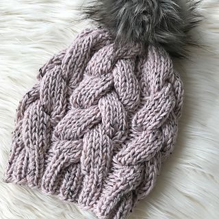 Ravelry: Chunky Braided Beanie pattern by Zoe Bartley ...