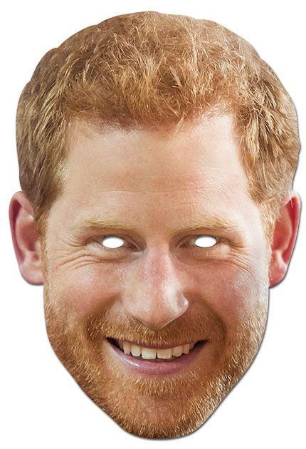 Prince Harry face mask おめん Pinterest Face masks and Masking