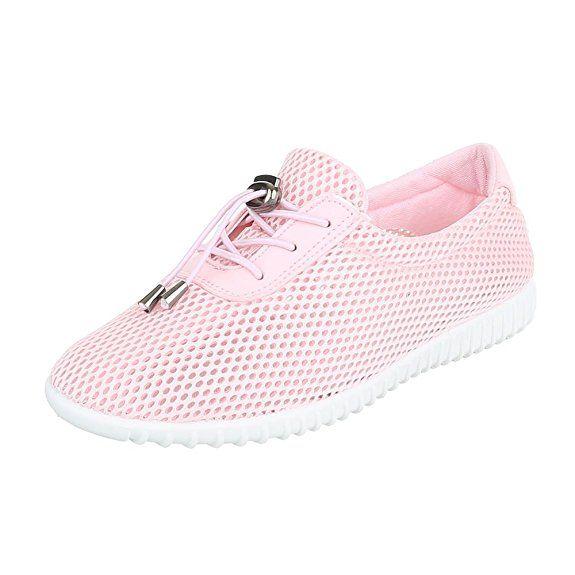 Damen Schuhe Freizeitschuhe Sneakers Grün 36 60NiR