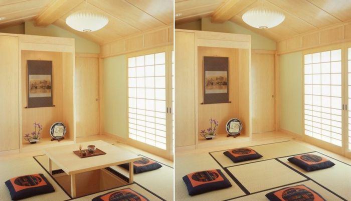 Japanischer Tisch in modernem Stil 13 Design