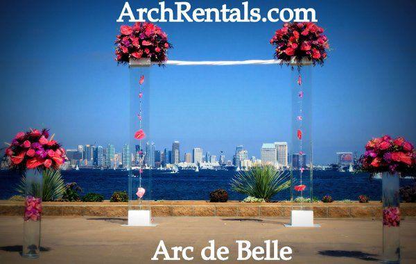 Acrylic Wedding Altar Arch RentalsAvailable in Los AngelesOrange