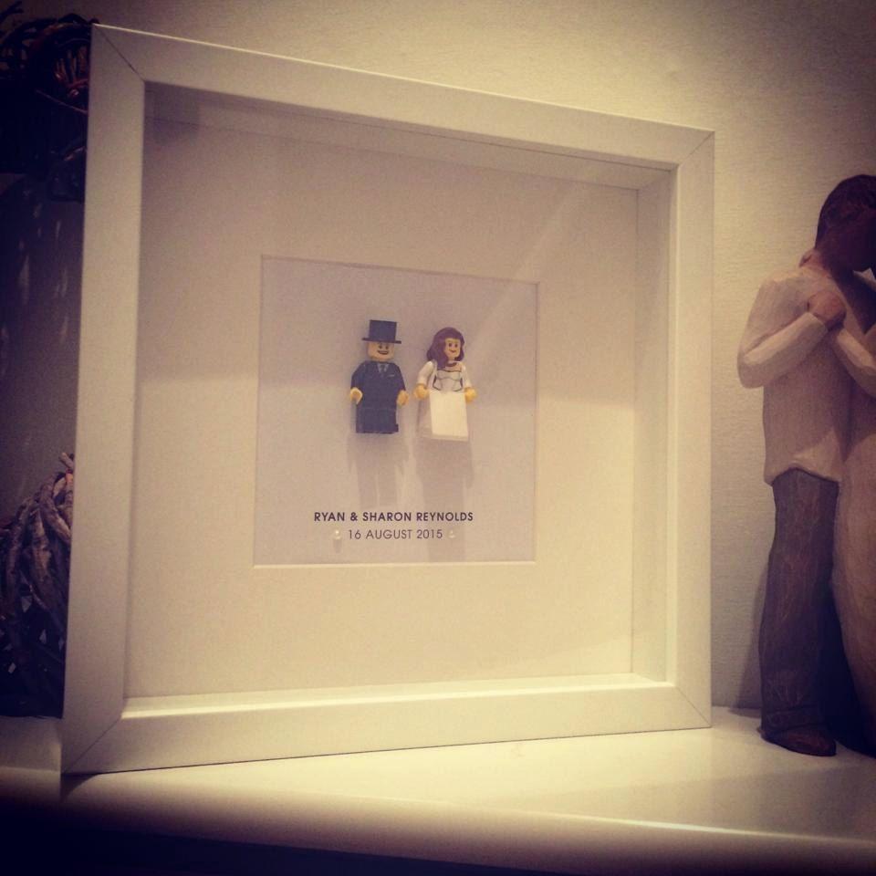 Lego Bride And Groom Personalised Wedding Gift Frame By ArtsItsyBitsy On Etsy