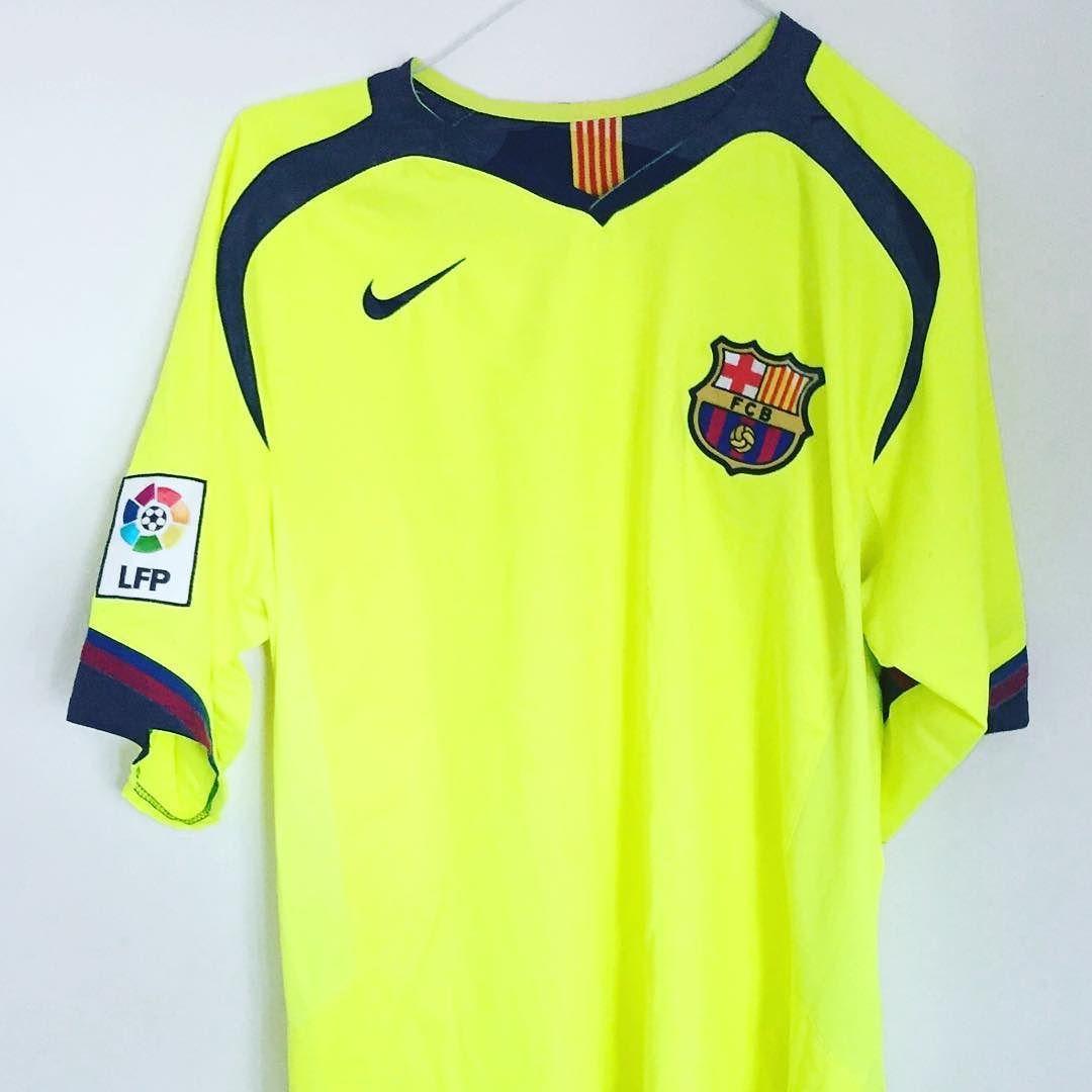 online store 96b6b ed54e 2005-06 Barcelona Away Shirt (Excellent) L Price: 39.99 (20 ...