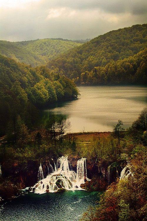 Plitvice Lakes, Croatia by Marina Filipovic