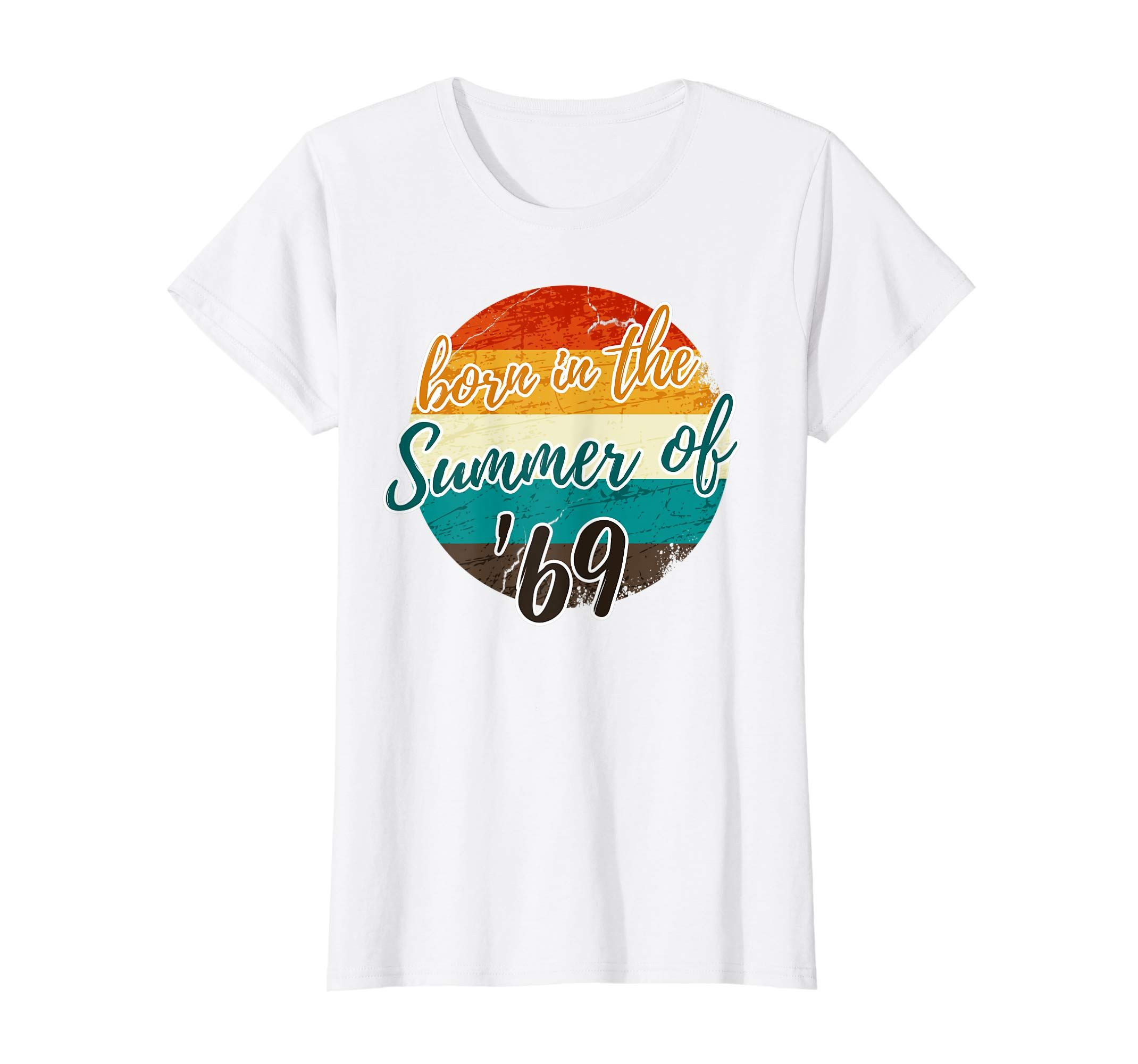 50th Birthday Summer of 69 T Shirt Gift Mom Dad Vintage-Protee #moms50thbirthday