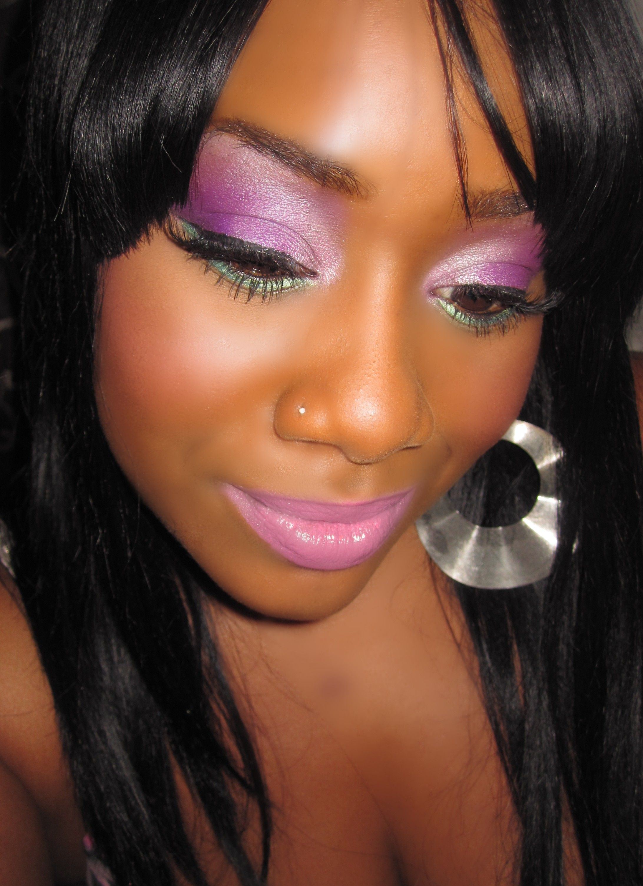 Lipstick Alley - View Single Post - Black women and bright eye ...