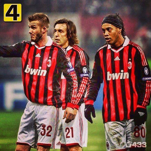 Who Should Take The Free Kick 1 Beckham 2 Pirlo 3 Ronaldinho