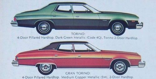 1975 Ford Gran Torino Isolation Chamber Ford Torino Ford Car