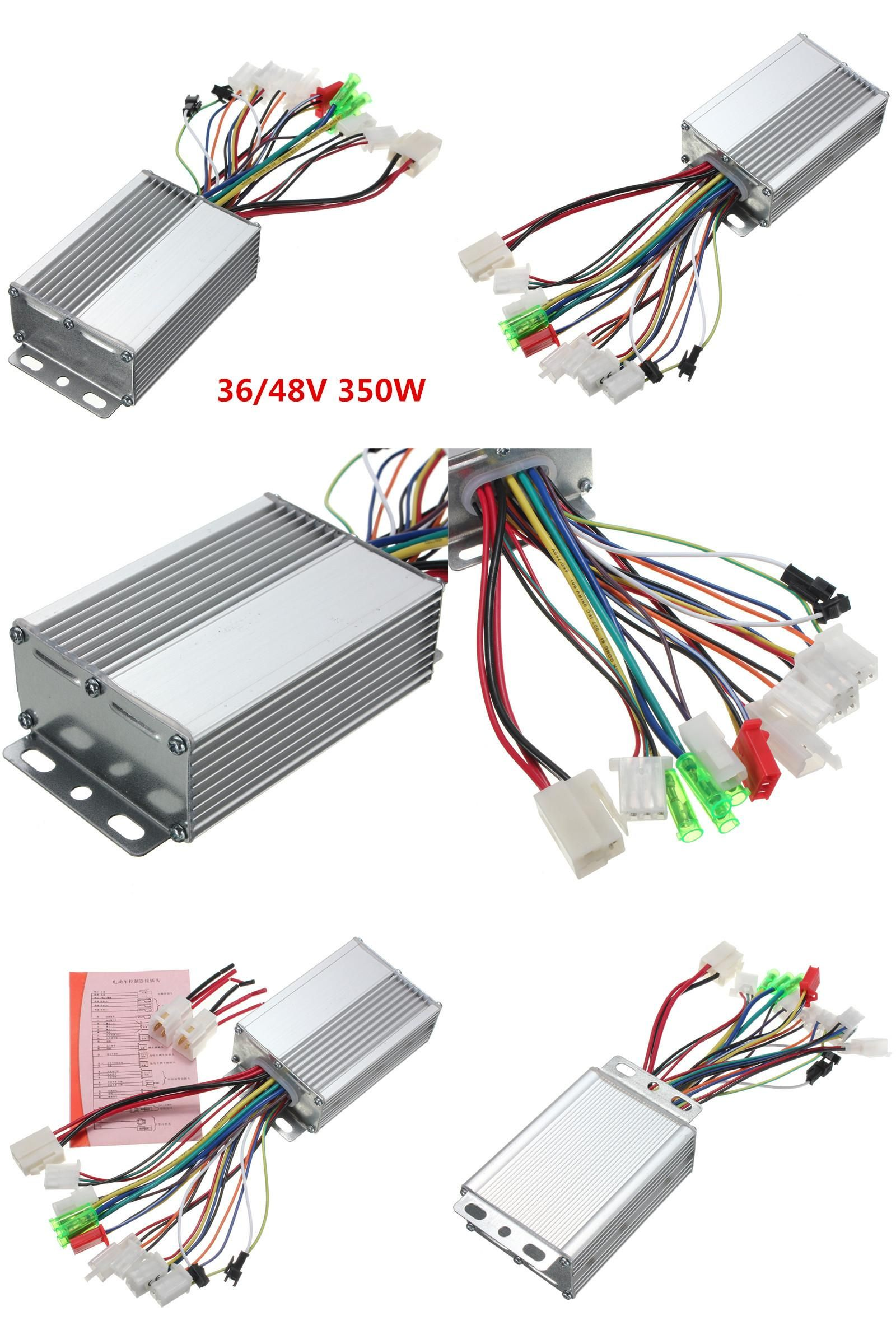 Visit To Buy 36v 48v 350w Brushless Motor Controller For Electric Home Wiring An Car Vehicle Scooter