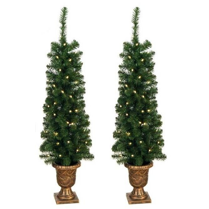 Merske Prelit 4-foot Entryway Porch Tree Products Pinterest
